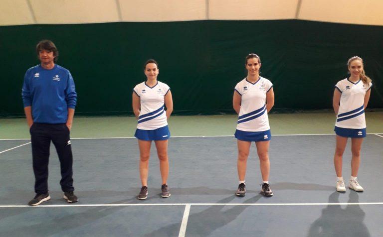 Squadra Serie C femminile Tennis Club Faenza