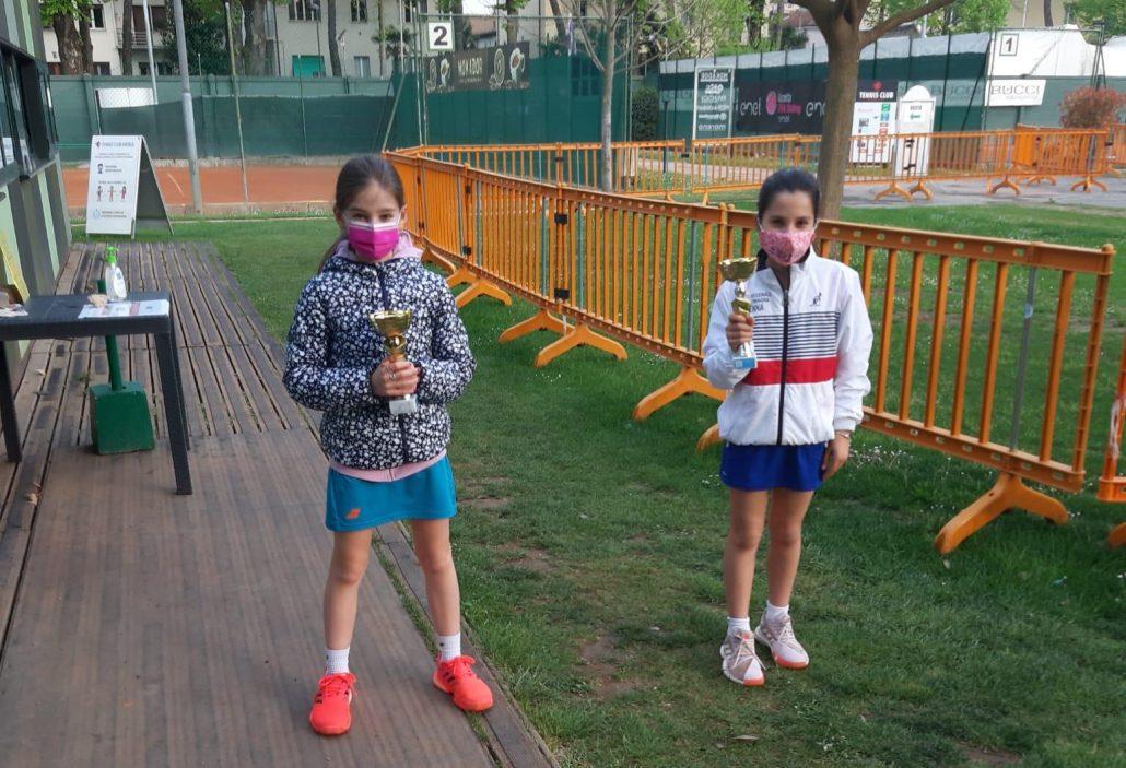 Torneo Under 11-12 al Tc Faenza: vincono Gaia Donati, Giulio Campadelli, Gioia Bassi e Andrea Cogo