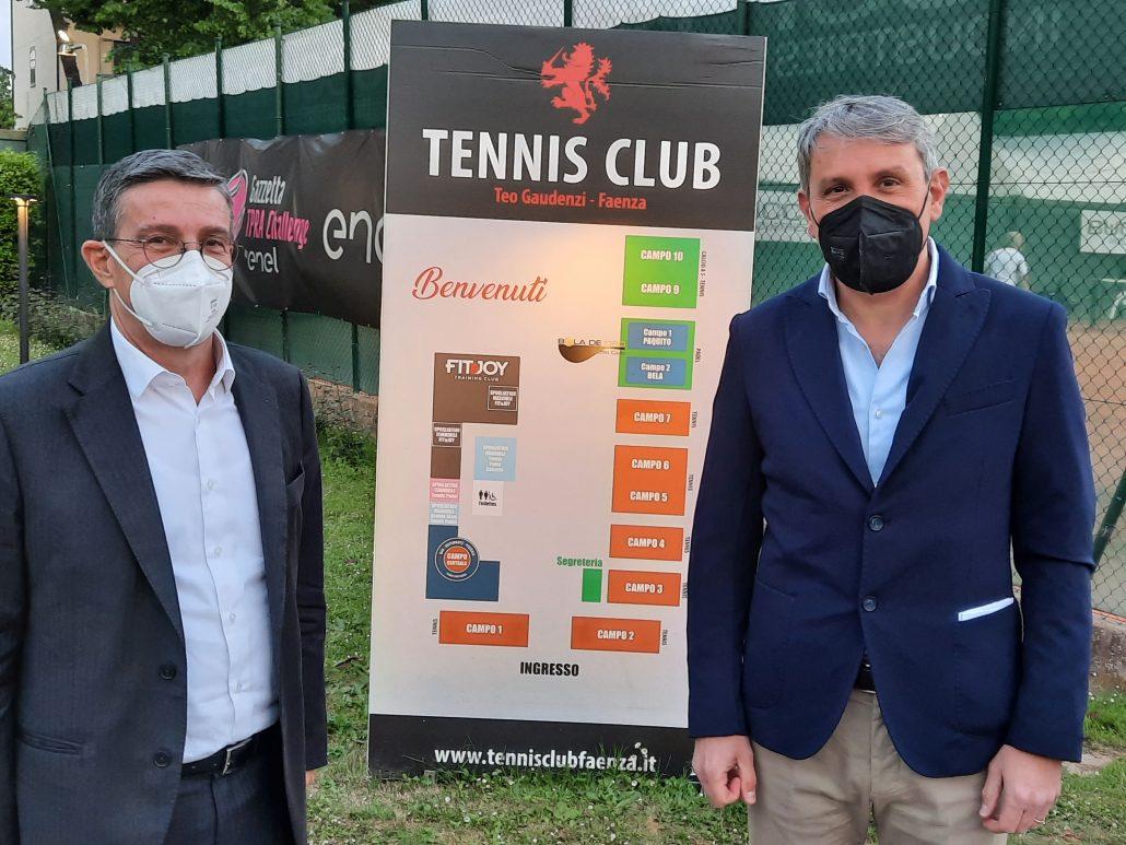 """""""Ecco il futuro del Tennis Club Faenza"""": i programmi del presidente Sabbatani"""
