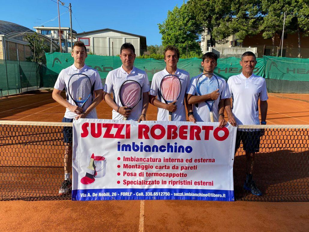 Terza giornata della C maschile: volano Ct Cesena A, Sonad Ravenna Sport Center e Tc Riccione