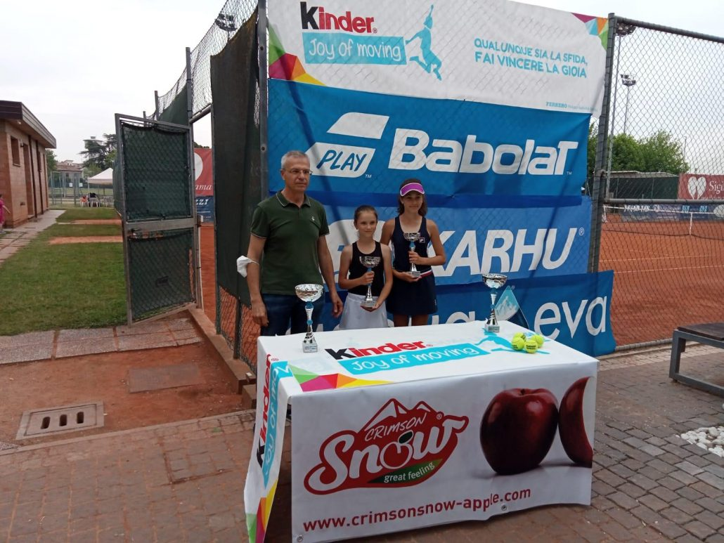 Kinder Trophy a Massa Lombarda: la prima a festeggiare è Maria Vittoria Ranieri
