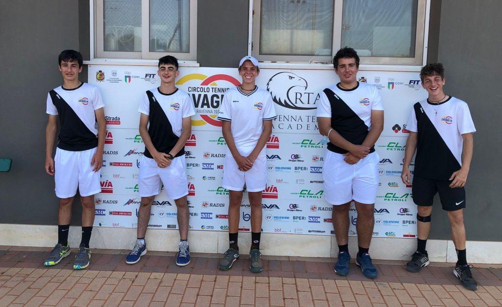 Campionato Under 16 maschile: Ct Zavaglia e Villa Carpena A volano in semifinale