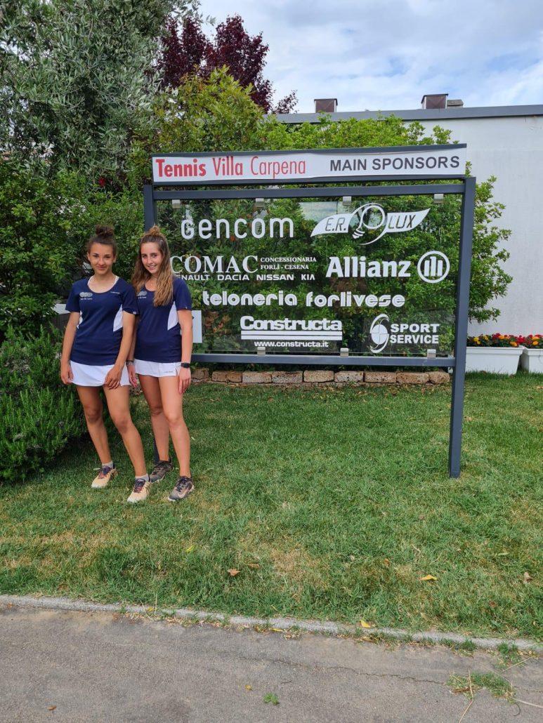 Campionato Under 16 femminile: il Tennis Villa Carpena irrompe in semifinale
