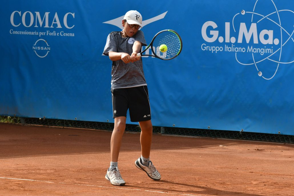 Carlo Paci Tennis Europe under 12 Forlì