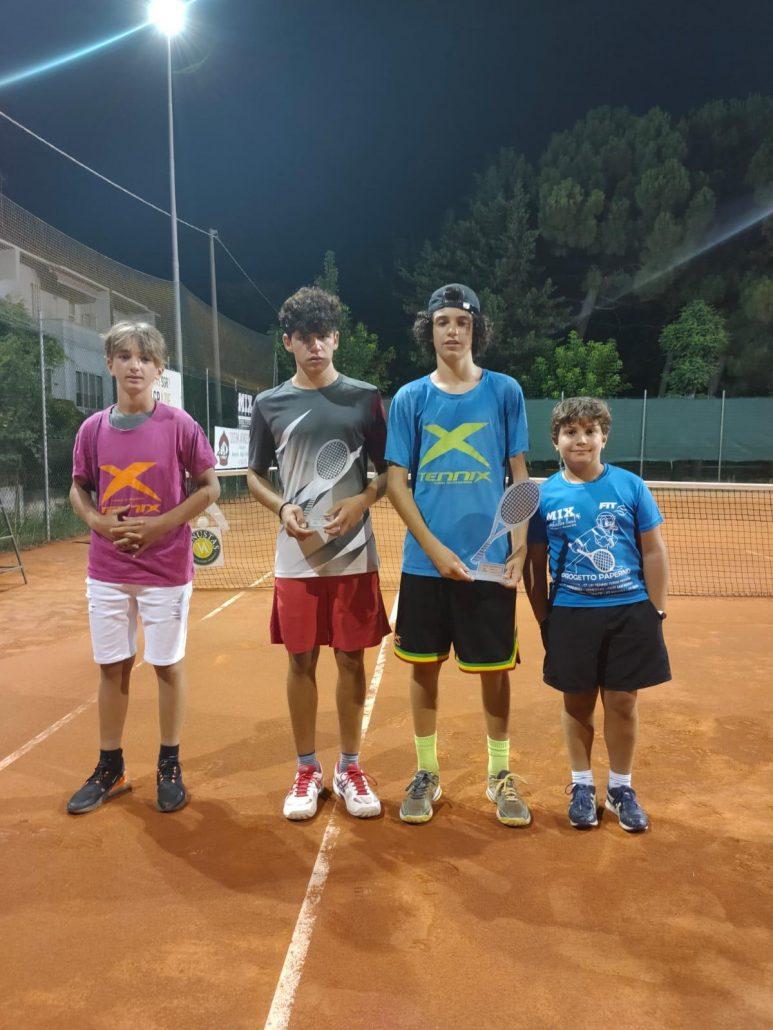 Torneo giovanile Ct Venustas: nell'Under 16 vincono Alberto Bezzi e Sara Aber