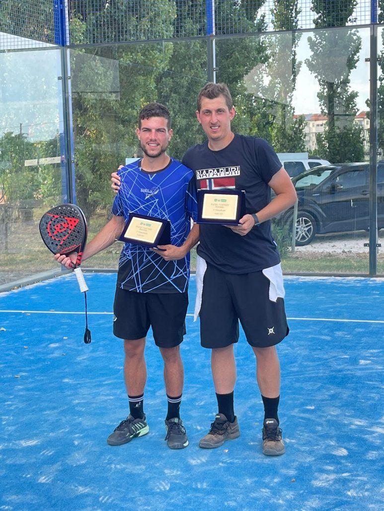 Padel Contest all'Up Tennis: a segno Beltrami-Patracchini
