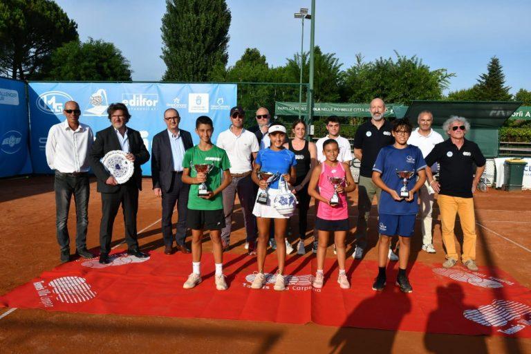 Tennis Europe Under 12 Villa Carpena: la premiazione del singolare