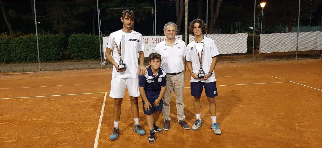 Filippo Di Perna domina l'Open del Circolo Tennis Venustas
