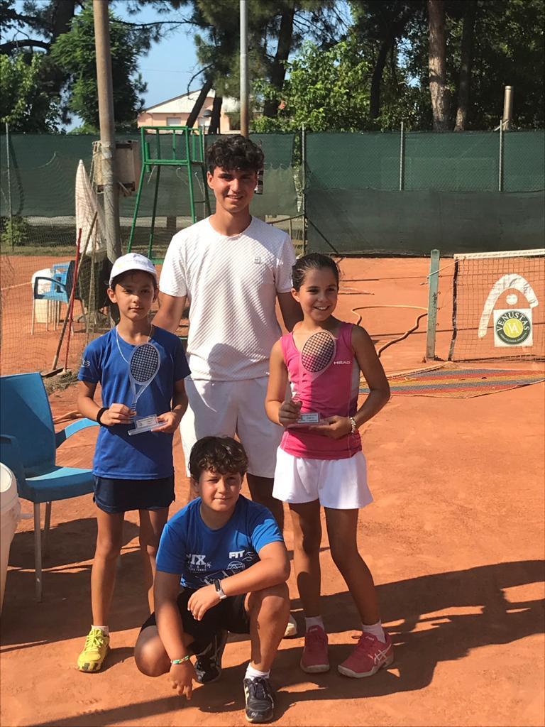 Torneo giovanile al Venustas: doppietta Ravenna Tennis Academy con Aber e Donati