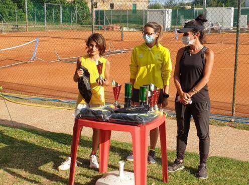 Lorenzo Ravaglia e Mattia Sartoni firmano il giovanile al 'Suzanne Lenglen' Fusignano