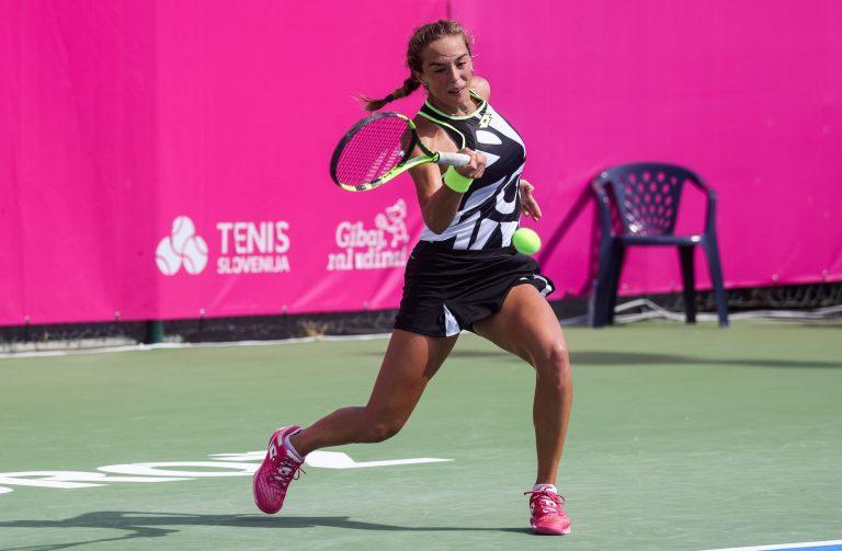 Lucia Bronzetti WTA Portoroz