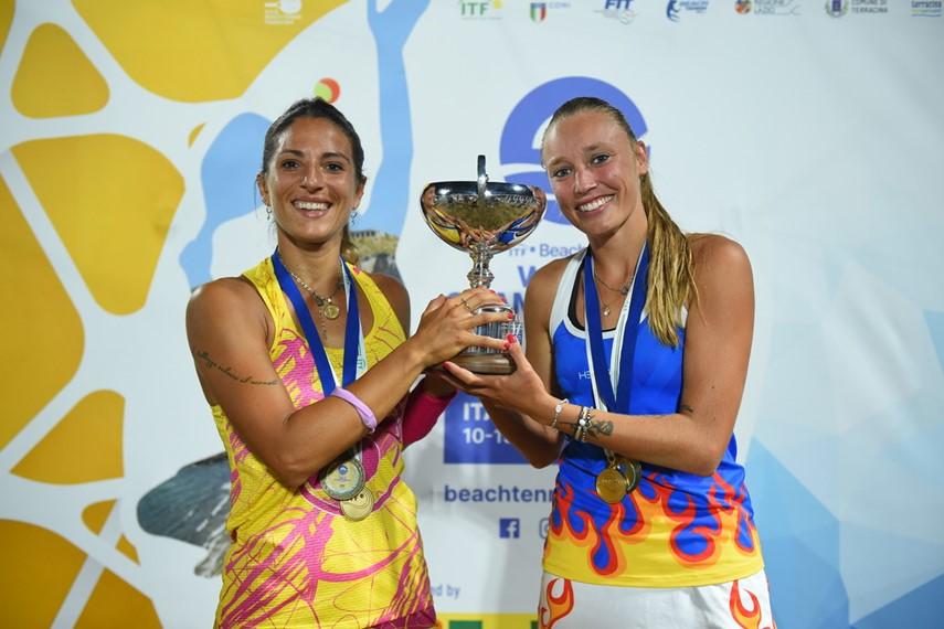 Beach Tennis: il Mondiale parla ancora romagnolo con Gasparri-Valentini