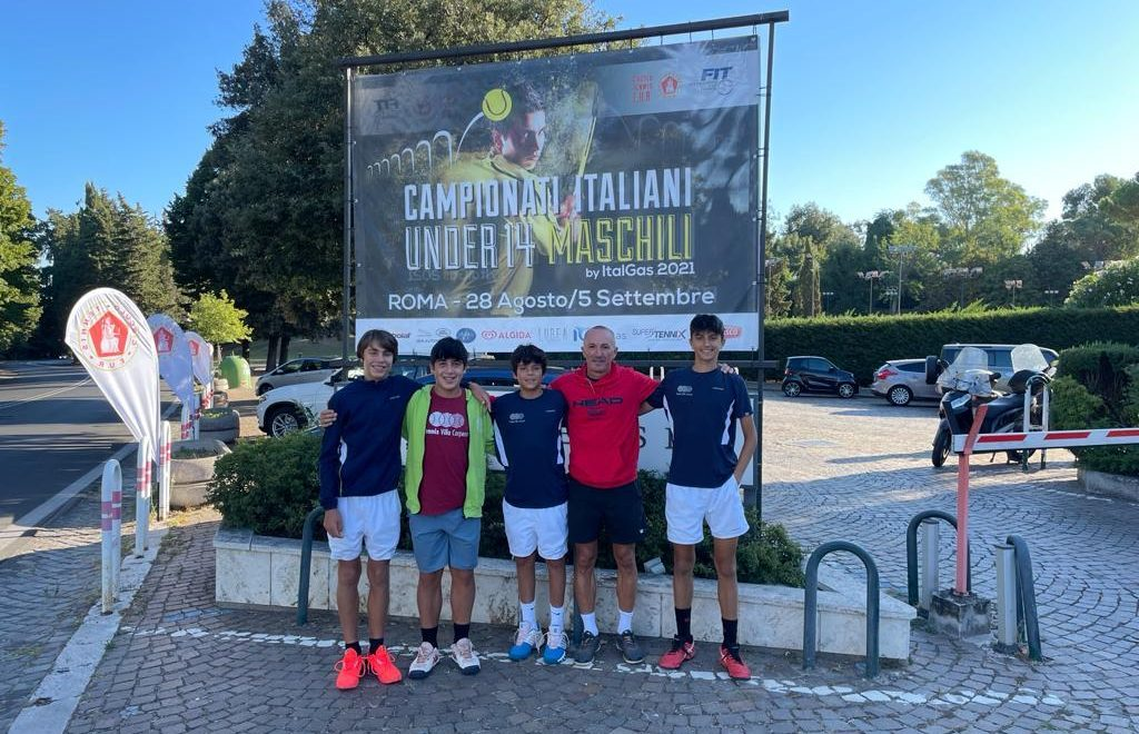 Tricolori Under 14: finale all'Eur Roma per Guidi-Bonivento, stop per Chiara Bartoli e Carolina Gasparini in finale a Verona