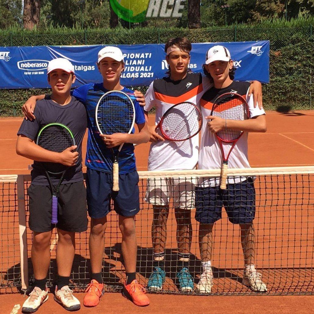 Tricolori Under 14: Guidi-Bonivento si fermano in finale. Caniato campione U.16 di doppio