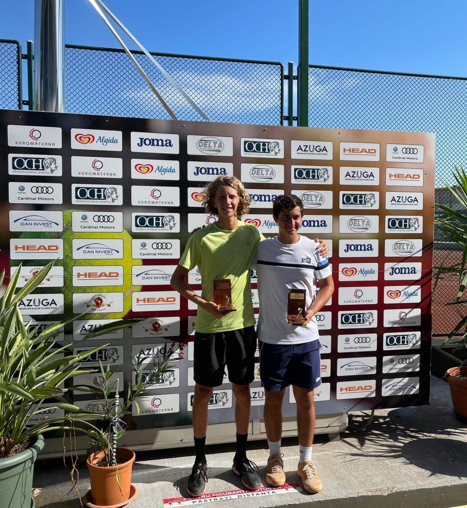 Itf Junior Tour Costanza: Jacopo Bilardo vince il doppio con lo svizzero Graziani