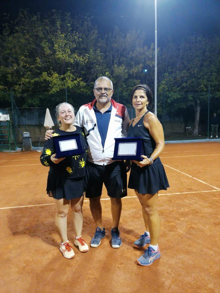 Torneo Veterani Ct Cicconetti: Manuela Benedettini vince il derby e il titolo Lady 40
