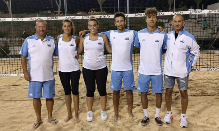 La nazionale sammarinese di beach tennis