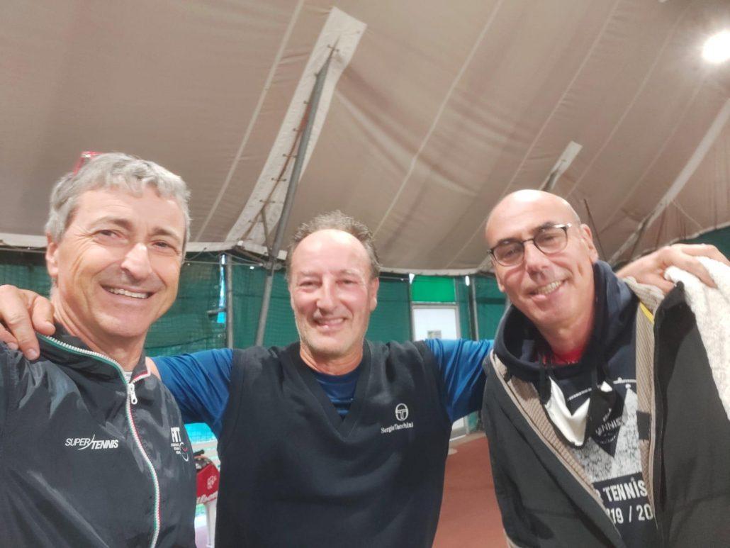 Il Circolo Tennis Rimini in finale nel Campionato Regionale Over 55