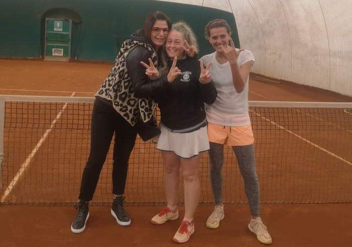 La squadra Lady 40 del Circolo Tennis Cicconetti si laurea campione regionale