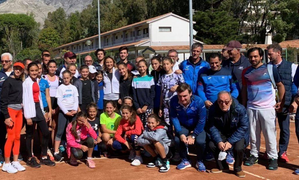Sofia Cadar e Chiara Dal Pozzo al raduno nazionale under 12 a Formia